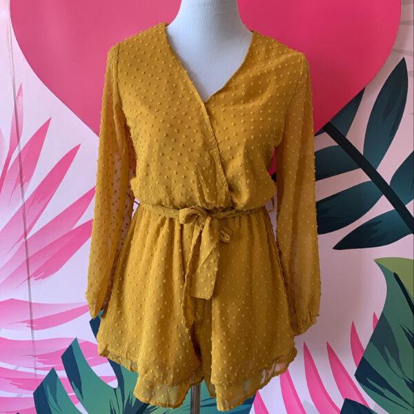 jumper color mostaza manga larga - ecuador - ropa gallardo