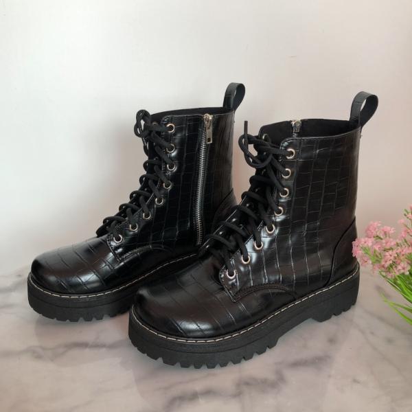botas color negro para mujer de talle alto - ecuador - ropa gallardo