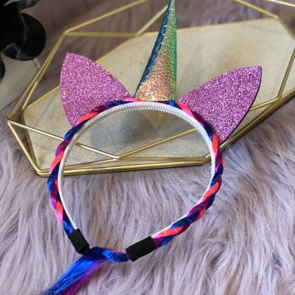 diadema unicornio para disfraz de halloween - ecuador - ropa gallardo